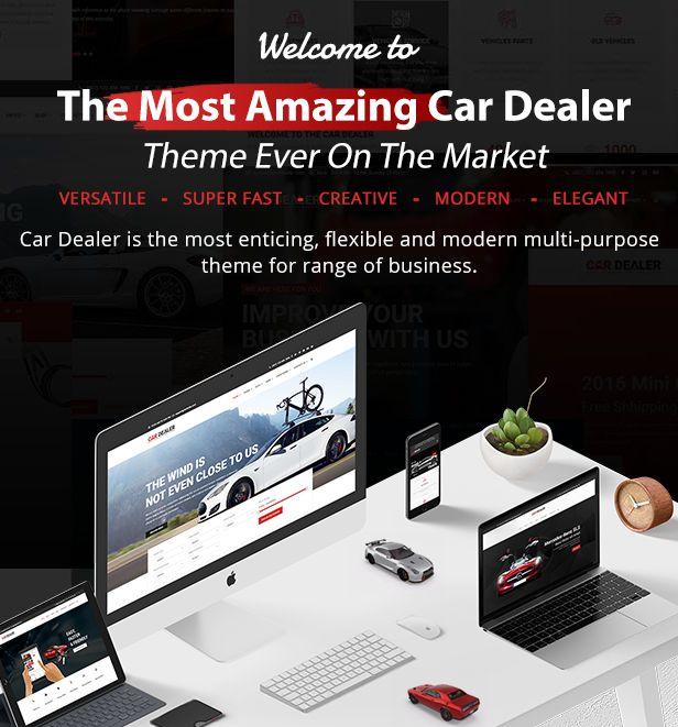 Car Dealer -  Automotive Responsive WordPress Theme - 4