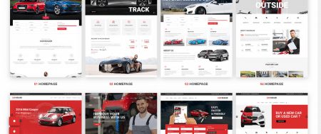 Download Free Car Dealer WordPress Theme For Automotive Industry