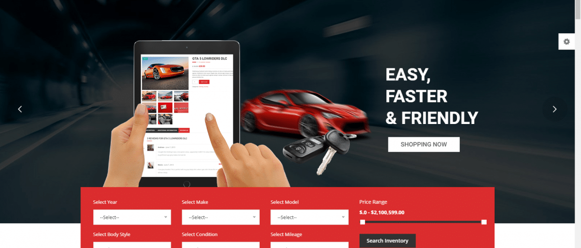 How Can a Car Dealer Take his Business Online Using Car WordPress Theme?