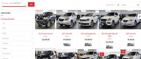 Best Car Listing Template For Car Dealer